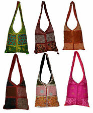 10pcs Big Jhola Bags Patchwork Hand Made Long Purse Gypsy Wholesale Lot