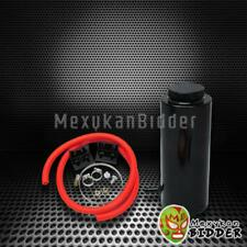 Black Aluminum 400ml Radiator Coolant Overflow Reservoir Tank for Acura Integra