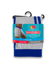 Fruit of the Loom Boxer Briefs Breathable Micro-Mesh 3 Pack