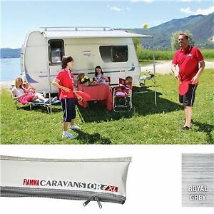 Fiamma Caravan Caravanstore 440 4.4M XL Awning Royal Grey Fabric 07740G01R