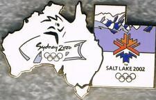 Rare 2002 Salt Lake City to 2000 Sydney Olympic Games Marks Bridge Pin #2