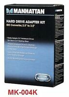 """2.5"""" to 3.5"""" Laptop IDE HDD Adapter w/ Brackets, 424547"""