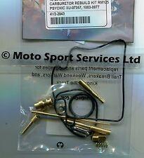 Carb Carburettor Rebuild Kit Suzuki RM 125 01-06 (Mikuni) Jets Needle Valve