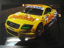 Photo Abt Sportsline Team Audi TT V8 DTM 2001 #18 Christian Abt (2 foto's)