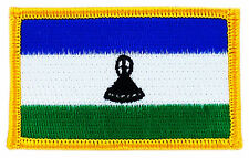 FLAG PATCH PATCHES LESOTHO  IRON ON COUNTRY EMBROIDERED WORLD FLAG