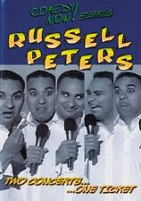 Comedy Now! Starring Russell Peters - Two Concerts One Ticket (DVD, 2006)