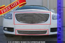 GTG 2011 - 2013 Buick Regal 2PC Polished Replacement Billet Grille Grill Kit