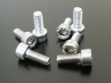KAWASAKI ZL1000 ELIMINATOR ALL YEARS SILVER STAINLESS STEEL FUEL TANK CAP BOLTS