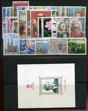 MONACO ANNEE 1979 COMPLETE TIMBRES NEUFS XX - LUXE
