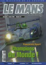 LE MANS RACING n°33 Décembre 2005 - Janvier 2006
