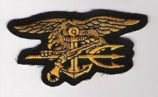 FANCY DRESS HALLOWEEN COSTUME PARTY PROP PATCH: US NAVY SEAL TEAM INSIGNIA PATCH