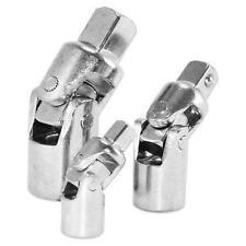 Am-Tech 3 piezas junta universal adaptador de enchufe Set Bendy Nudillo 1.3cm