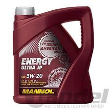 Mannol Energy Ultra JP 5 W de 20 API SN Motorenöl 1 L)