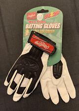 New Rawlings Anti Sting Baseball Batting Gloves White/Black Youth Small