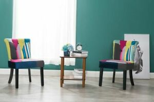 Westwood Patchwork Dining Chair Set - Set of 2/*