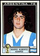 Argentina 78 Mario Alberto Kempes #107 World Cup Story Panini Sticker (C350)