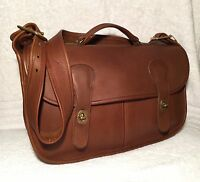 Vintage COACH Musette Bag, 9625, Tabac, Made in New York City
