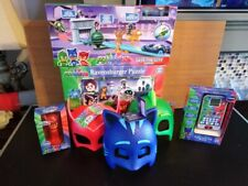 NEW PJ Mask Catboy, Gekko and Owlette  Bundle with City set - All Brand New