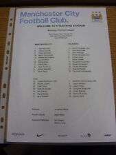 22/03/2014 Colour Teamsheet: Manchester City v Fulham  . Thanks for viewing our