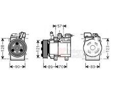 ASHUKI Kompressor, Klimaanlage   für Hyundai H-1 Travel H-1/Starex