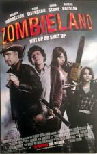 "ZOMBIELAND - 11""x17"" Original Promo Movie Poster 2009 Woody Harrelson Emma Stone"
