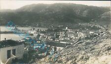 Crete Poros bay town View  Taken by Navy officer HMS Ramillies 1930 v2