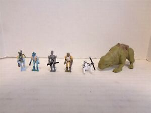 1996 Galoob Star Wars Action Fleet Battle Pack #4 Imperial Hunters Set Complete