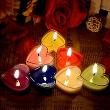 Fragranced Romantic Lover Love Wedding Party Heart Shaped Scented Candles Home