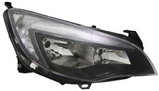 VAUXHALL ASTRA J 2010-2014 FRONT HEADLIGHT BLACK RIGHT HAND DRIVERS OFFSIDE O/S
