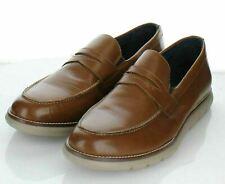 16-78 New $139 Men's Sz 10 M Johnston & Murphy Milson Penny Sneakers In Tan