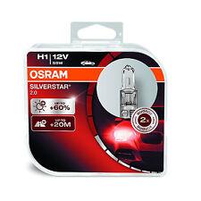 2x Original Osram Silverstar 2.0 H1 (448) 55w 12v bombillas [ 64150sv2-hcb ]