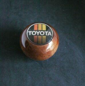 Toyota new reproduction shift knob  Landcrusier Corolla Celica M12x1.25 Mahogany