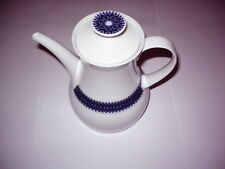 Thomas Porzellan Kaffekanne Design Rotunda von Tapio Wirkkale in kobaltblau
