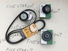 A/C Alternator Drive BELT & TENSIONER +2 IDLER Pulley Kit for Mercedes e350 e550