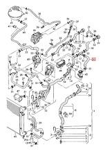 GENUINE OEM VW Passat  2006-2011 Variant 4Motion Coolant Hose 3C0121096S