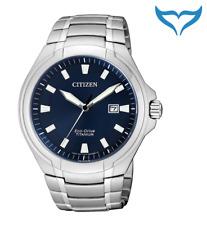 Citizen Super Titanium Herren Armbanduhr BM7430-89L Saphir Eco-Drive Herrenuhr