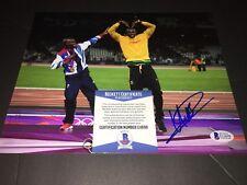 Usain Bolt Signed 2016 RIO Olympics 8x10 Photo 9 Gold Medals Jamaica Beckett #8
