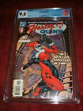 HARLEY QUINN 1 2000 CGC 9.6 WHITE PAGES KEY ISSUE