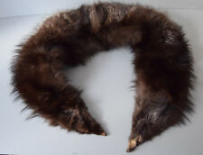 großer Pelzkragen Fellkragen Fuchskragen Fuchsfell Blaufuchs-Kragen 135cm