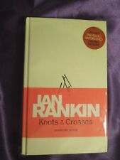 Knots and Crosses by Ian Rankin (1987, Hardcover) Signed Collectors' Edition