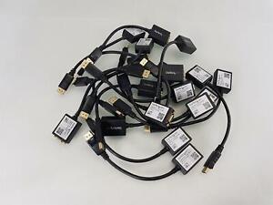 Joblot of 17 StarTech DisplayPort to VGA Video Adapter Converter