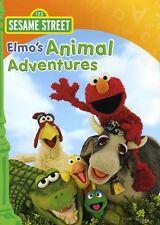 Sesame Street: Elmo's Animal Adventures (2009, DVD NIEUW)