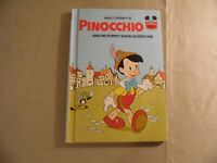 Pinocchio by Wonderful World of Disney (Hardcover 1973) Free Domestic Shipping