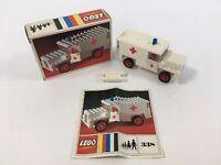 LEGO Systems Legoland 338 Vintage 70s Ambulance Complete w/ Instructions & Box