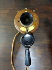 ANCIEN TELEPHONE MURAL ANTIQUE VINTAGE OLD PHONE DECO ALTE TELEFON 3