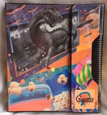 Vtg Mead Cruisers Binder Trapper Keeper 1988 1989 Pop Art New Old Stock UFO Cars