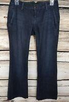 Lucky Brand Womens Size 2 26 Jeans Dark Blue Boot Cut Excellent