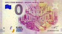 BILLET 0  EURO  HOLY FOOD MARKET BAUDELOKAPEL GENT BELGIQUE  2018  NUMERO 100