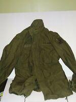 Coat , Cold Weather , Field Vietnam Era , Olive Drab SIZE Medium Long