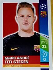 25 Marc-Andre Ter Stegen Barcelona 2017/2018 Topps UEFA Champions League sticker